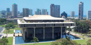 picture of the Hawaii State Capitol