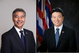 Governor-elect David Ige & Lt. Gov-elect Shan Tsutsui
